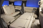 Picture of a 2016 Toyota Sequoia's Rear Seats in Sand Beige