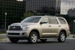 2016 Toyota Sequoia in Sandy Beach Metallic - Static Front Left View