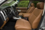 Picture of a 2016 Toyota Sequoia's Front Seats