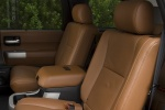 Picture of a 2016 Toyota Sequoia's Rear Seats