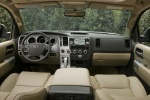 Picture of a 2016 Toyota Sequoia's Cockpit in Sand Beige