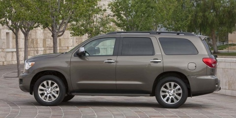 2016 Toyota Sequoia SR5, Limited, Platinum V8 4WD Review
