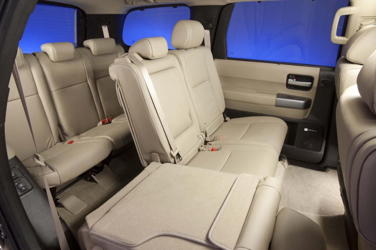 2017 Toyota Sequoia Rear Seats Picture