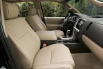 Picture of a 2017 Toyota Sequoia's Front Seats in Sand Beige