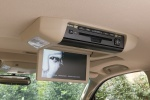 Picture of a 2017 Toyota Sequoia's Overhead Screen in Sand Beige