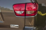 Picture of a 2017 Toyota Sequoia's Tail Lights