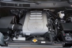 Picture of a 2017 Toyota Sequoia's 5.7L V8 Engine