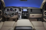 Picture of a 2017 Toyota Sequoia's Cockpit in Sand Beige