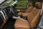 Picture of a 2017 Toyota Sequoia's Front Seats