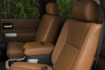 Picture of a 2017 Toyota Sequoia's Rear Seats