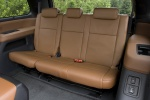 Picture of a 2017 Toyota Sequoia's Third Row Seats