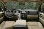 Picture of 2017 Toyota Sequoia Cockpit in Sand Beige
