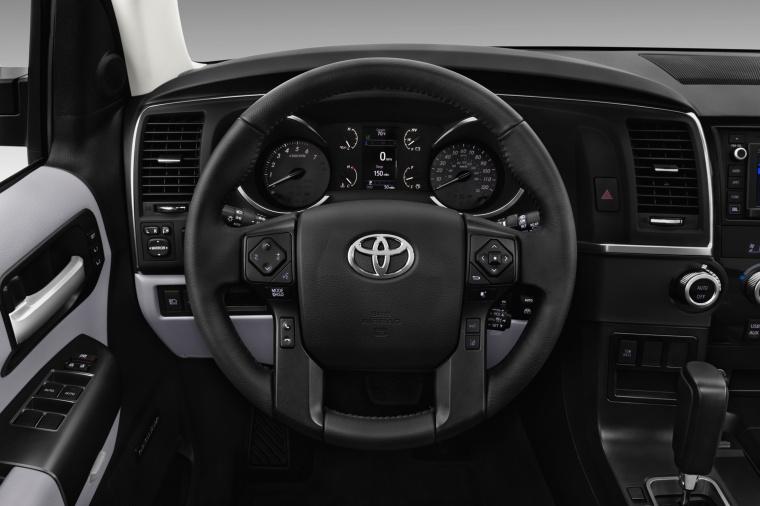 2018 Toyota Sequoia Cockpit Picture