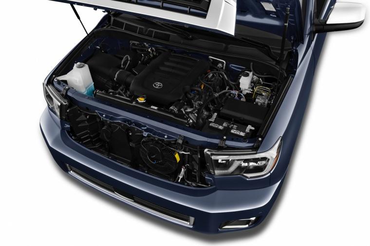 2018 Toyota Sequoia 5.7-liter V8 Engine Picture