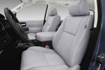 Picture of a 2019 Toyota Sequoia's Front Seats