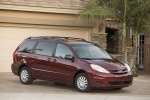 2010 Toyota Sienna LE in Salsa Red Pearl - Static Front Right Three-quarter View