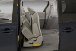Picture of 2011 Toyota Sienna LE Middle Row Seats Folded in Light Gray