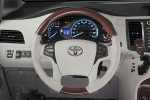 Picture of 2011 Toyota Sienna Limited Cockpit in Light Gray