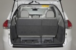 Picture of 2011 Toyota Sienna Limited Trunk in Light Gray