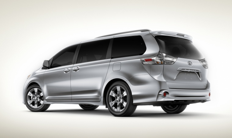2012 toyota sienna se picture pic image. Black Bedroom Furniture Sets. Home Design Ideas