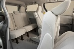 Picture of 2012 Toyota Sienna LE Rear Seats in Light Gray