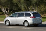 Picture of 2012 Toyota Sienna XLE in Silver Sky Metallic