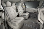 Picture of 2012 Toyota Sienna Limited Middle Row Seats in Light Gray