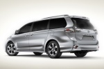 Picture of 2012 Toyota Sienna SE in Silver Sky Metallic
