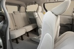 Picture of 2013 Toyota Sienna LE Rear Seats in Light Gray