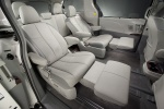 Picture of 2013 Toyota Sienna Limited Middle Row Seats in Light Gray
