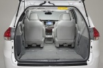 Picture of 2013 Toyota Sienna Limited Trunk in Light Gray
