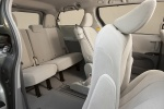 Picture of 2014 Toyota Sienna LE Rear Seats in Light Gray
