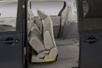 Picture of 2014 Toyota Sienna LE Middle Row Seats Folded in Light Gray