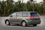2014 Toyota Sienna LE in Predawn Gray Mica - Static Rear Left Three-quarter View
