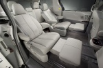 Picture of 2014 Toyota Sienna Limited Middle Row Seats in Light Gray