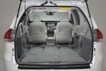 Picture of 2014 Toyota Sienna Limited Trunk in Light Gray