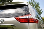 2017 Toyota Sienna Limited AWD Tail Light
