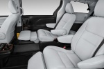 2017 Toyota Sienna Limited AWD Second Row Seats