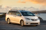 2017 Toyota Sienna Limited in Super White - Static Front Right View