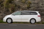 2017 Toyota Sienna Limited in Super White - Driving Side View