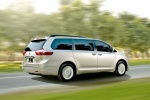 2017 Toyota Sienna Limited AWD in Creme Brulee Mica - Driving Rear Right Three-quarter View