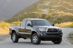 2010 Toyota Tacoma Access Cab SR5 4WD in Magnetic Gray Metallic - Static Front Right View