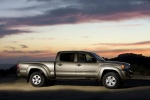 2010 Toyota Tacoma Double Cab in Pyrite Mica - Static Side View