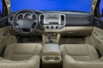 Picture of 2010 Toyota Tacoma Double Cab Cockpit in Sand Beige