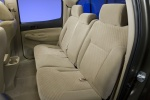 Picture of 2010 Toyota Tacoma Double Cab Rear Seats in Sand Beige