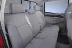 Picture of 2011 Toyota Tacoma Double Cab SR5 V6 4WD Rear Seats in Graphite