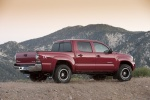 2011 Toyota Tacoma Double Cab SR5 V6 4WD in Barcelona Red Metallic - Static Right Side View