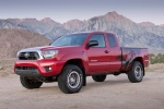 2013 Toyota Tacoma Access Cab V6 4WD in Barcelona Red Metallic - Static Front Left Three-quarter View