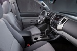 Picture of 2015 Toyota Tacoma Double Cab SR5 V6 4WD Front Seats in Graphite