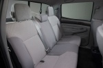 Picture of 2015 Toyota Tacoma Double Cab SR5 V6 4WD Rear Seats in Graphite